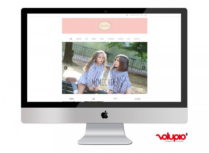Website Mimichic Volupio Viseu Comunicação Publicidade