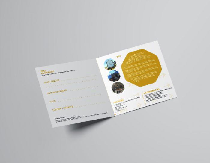 Percursos pedestres folheto volupio comunicação publicidade marketing viseu