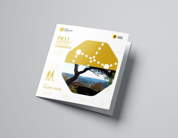 Percursos pedestres folheto 3 volupio comunicação publicidade marketing viseu
