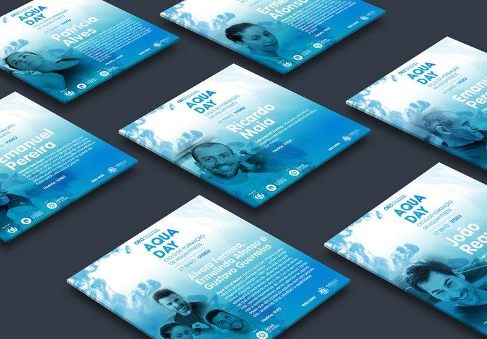 ecards Aqua day volupio publicidade comunicação viseu