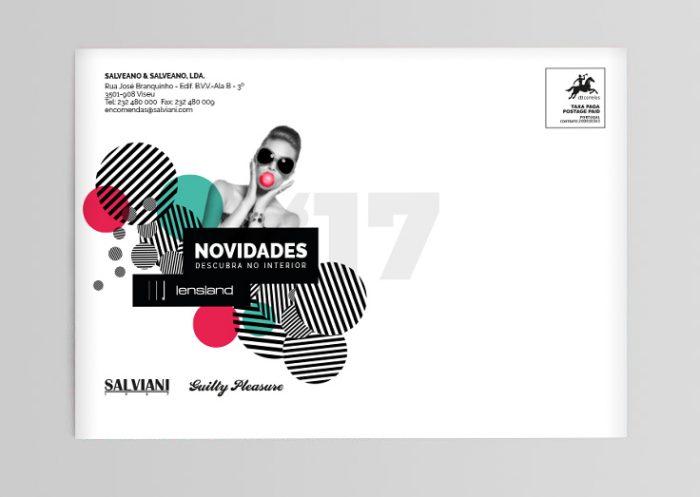 envelope campanha salviani lensland volupio comunicação publicidade marketing Viseu