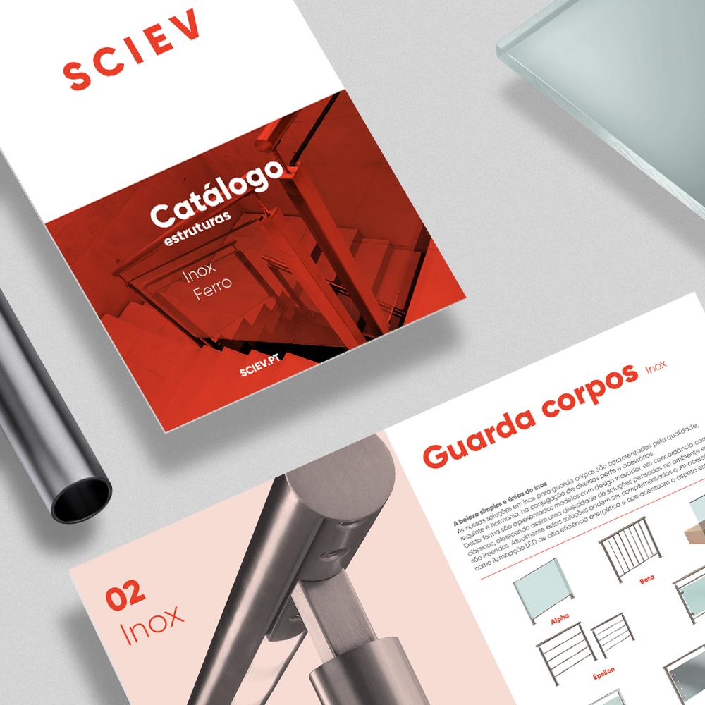 Design de Catálogo para a SCIEV