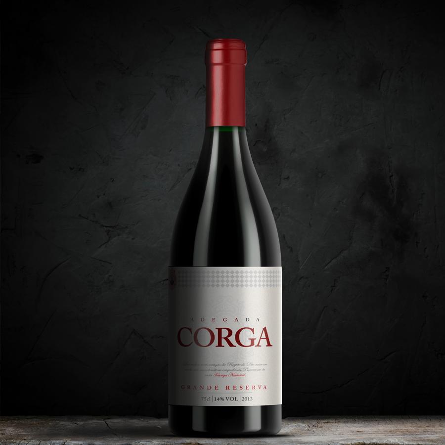 Design de rótulo de vinho