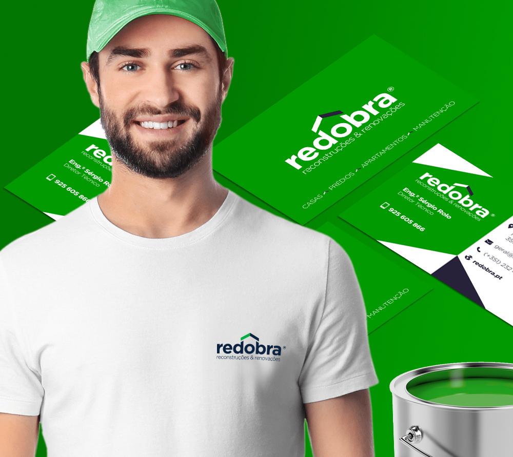 Criámos a nova imagem para a empresa Redobra