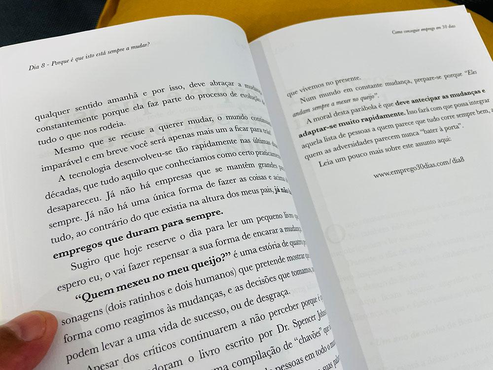 """Como editar um livro? Veja o exemplo do """"Como Conseguir Emprego em 30 Dias""""."""