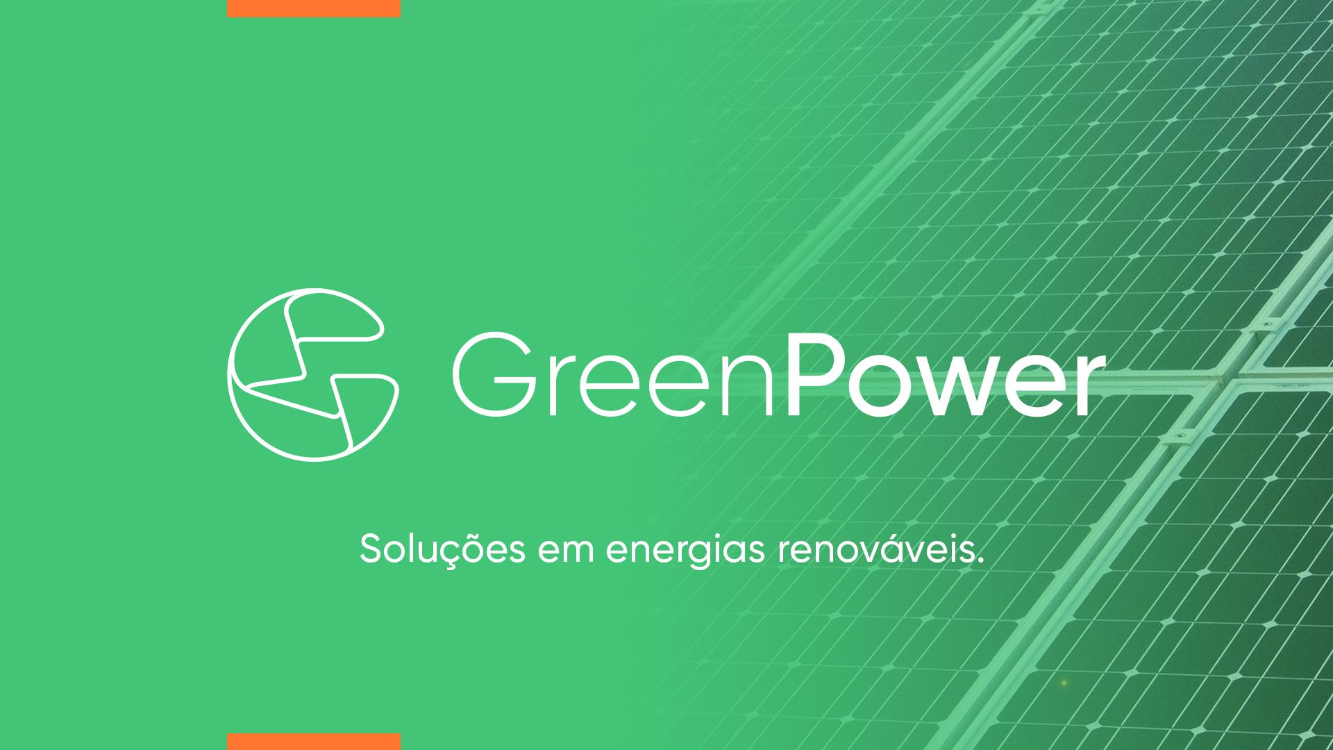 Criação de imagem para a empresa Green Power