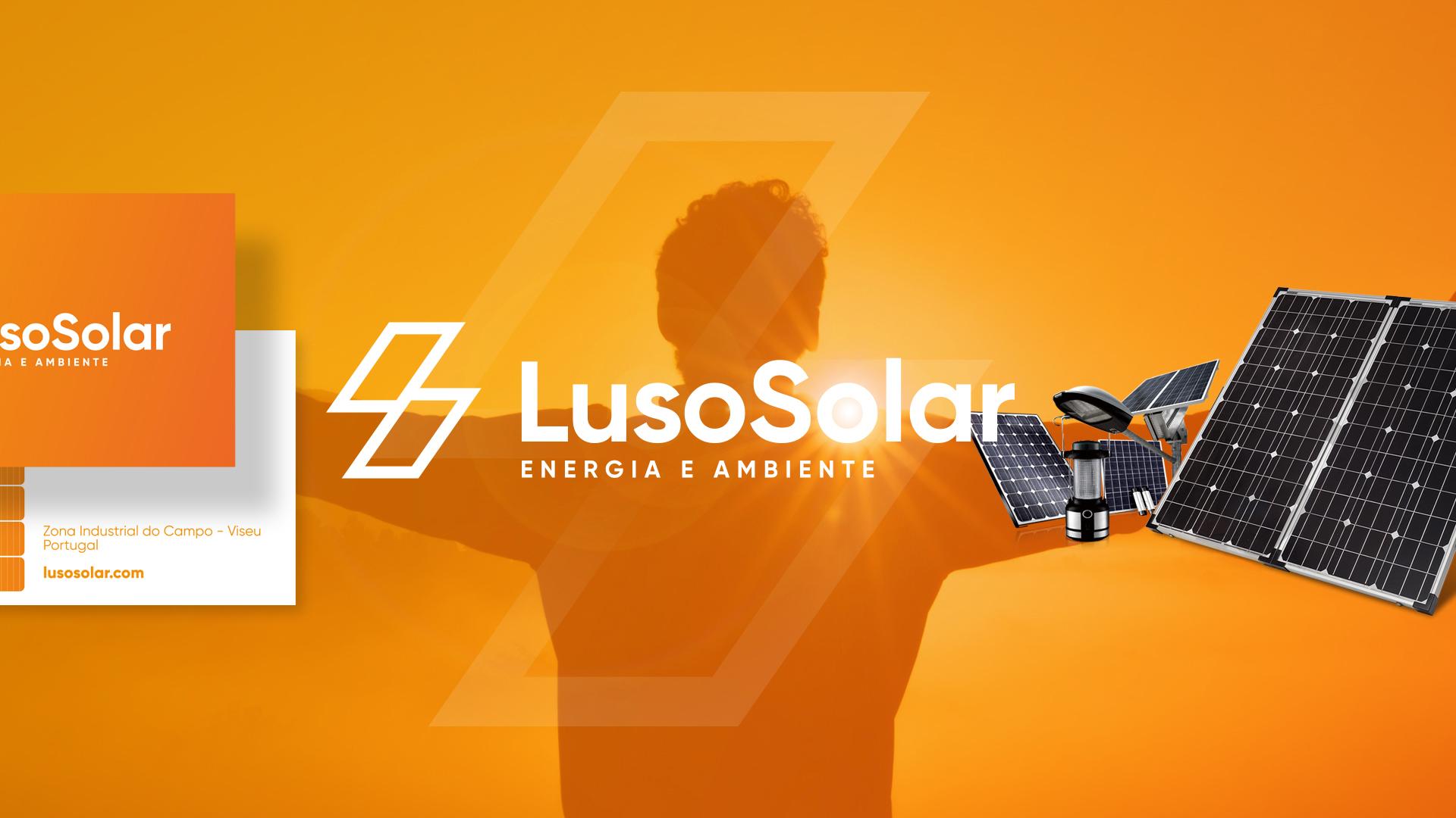 "Criámos a imagem para a nova empresa de Energia Solar ""Luso Solar"""