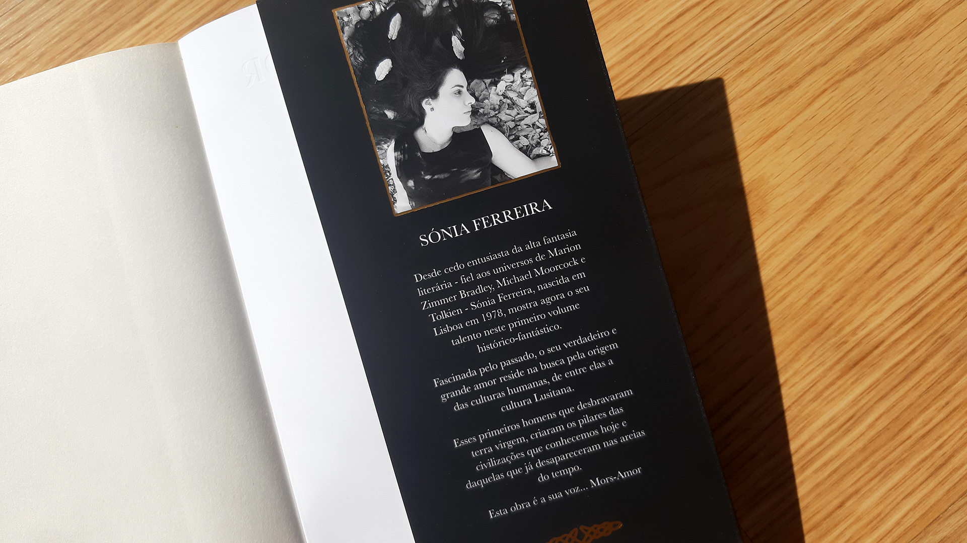 Sónia Ferreira lançou o primeiro livro da sua trilogia sem editora