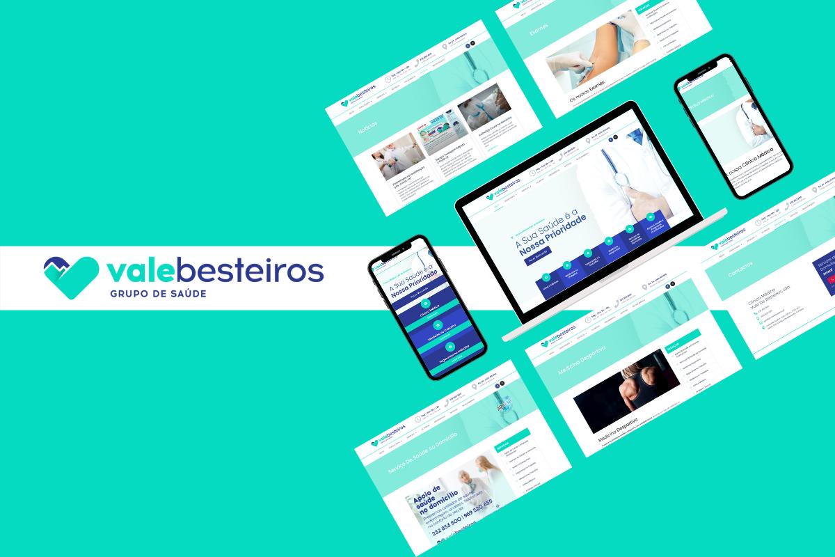 Desenvolvemos o novo website para o Grupo de Saúde Vale Besteiros