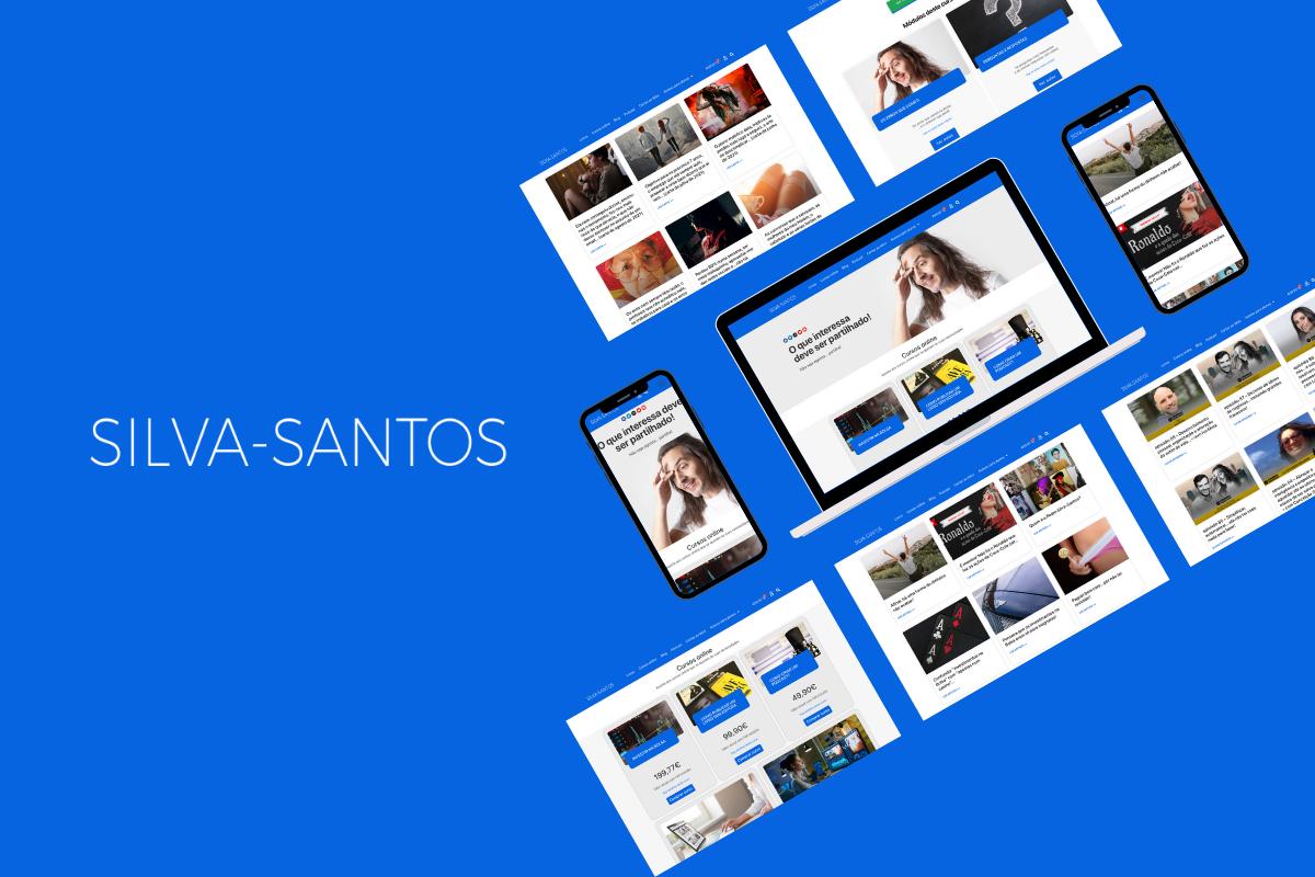 O novo website do Pedro Silva-Santos