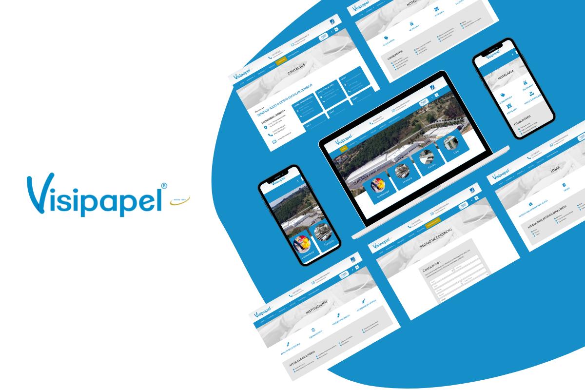Criámos o novo website da Visipapel
